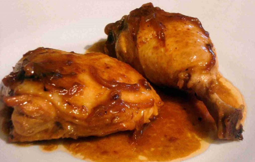 Pollo a la cerveza coca cola soluciones de la abuela for Que cocinar con pollo